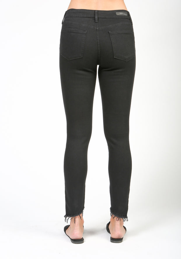 Articles of Society Suzy Skinny Crop Jeans - Black Jean