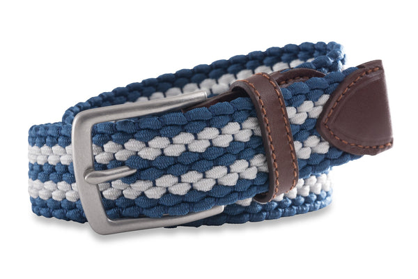 Southern Tide - Braided Web Belt - Dutch Blue