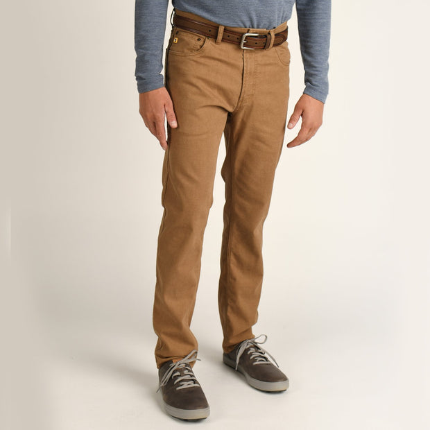 Duck Head - 1865 Five Pocket Field Canvas Pant - Buckskin