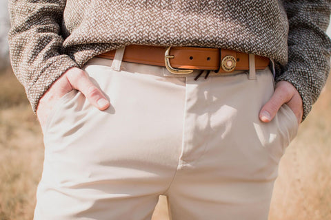 Over Under - Single Shot Belt - London Tan
