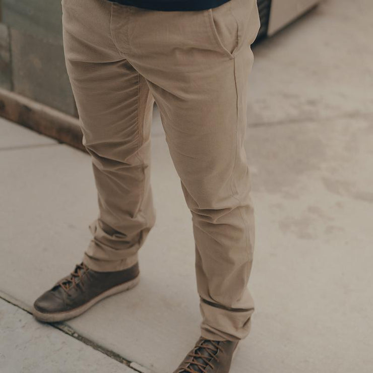 The Normal Brand - Normal Stretch Canvas Pant - Khaki