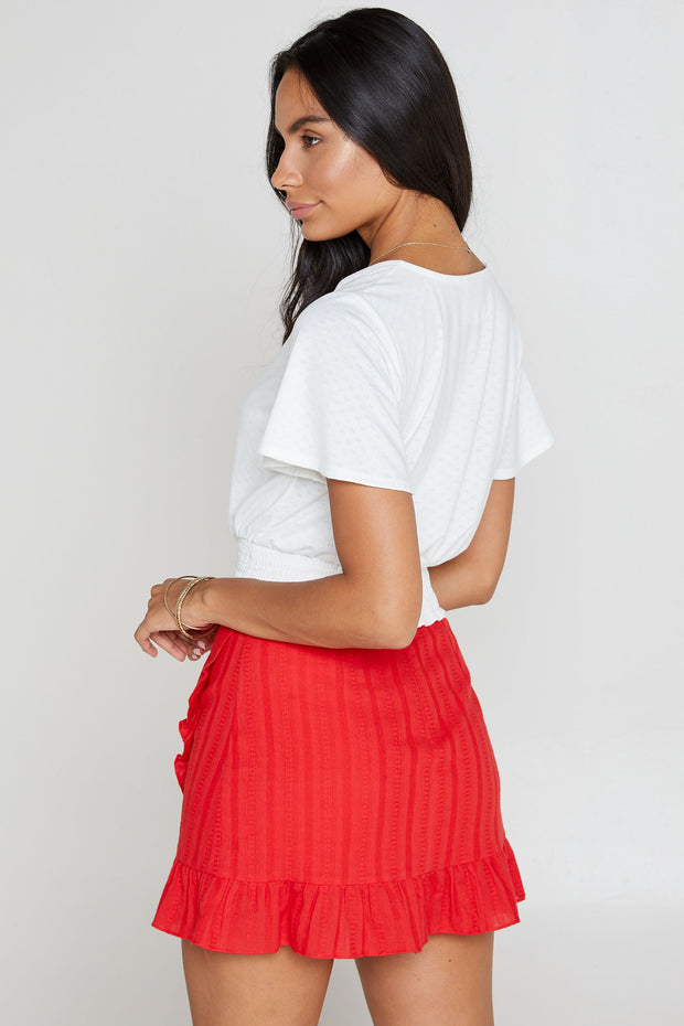 Slow Burn Mini Skirt