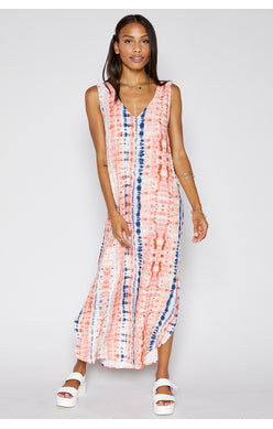 La Isla Tie Dye Maxi Dress