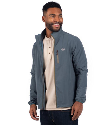 Southern Marsh - Downpour Dry Performance Pullover - Burnt Taupe