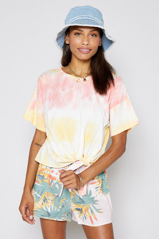 Sunshower Tie Dye Top