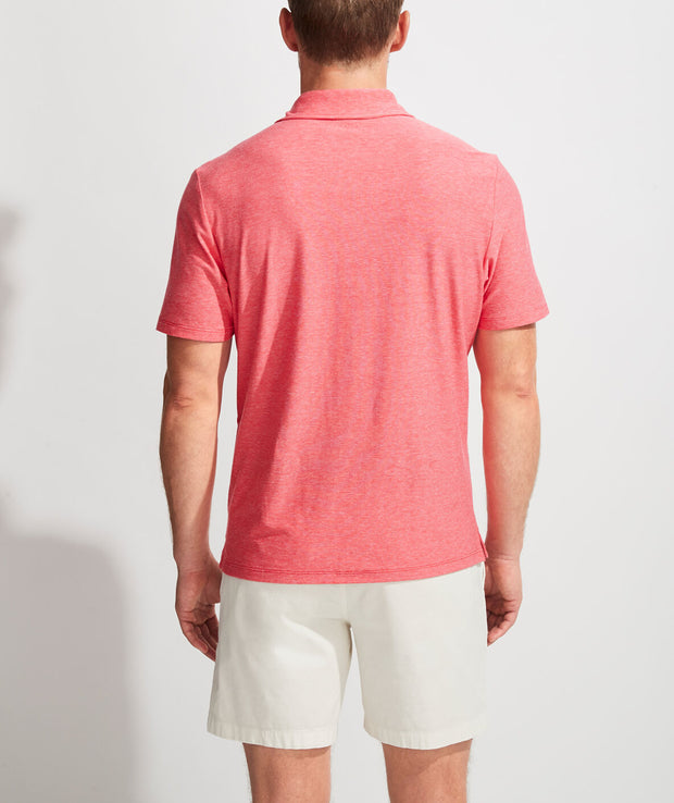 Vineyard Vines - Seawall Solid Edgartown Polo - Cuckoo