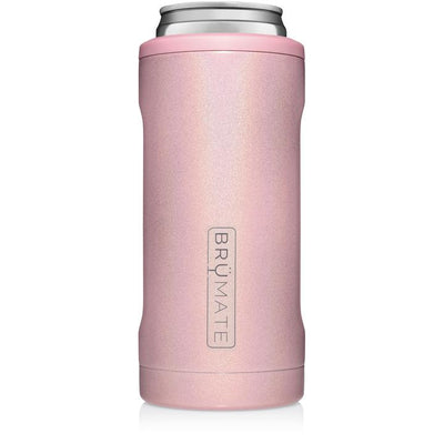 BruMate - HOPSULATOR SLIM | Glitter Blush (12OZ SLIM CANS)