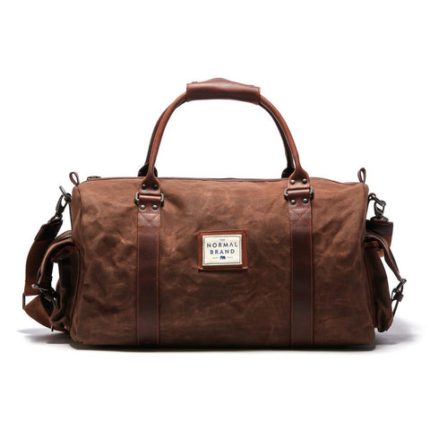 The Normal Brand - Garrett Weekend Bag - Brown
