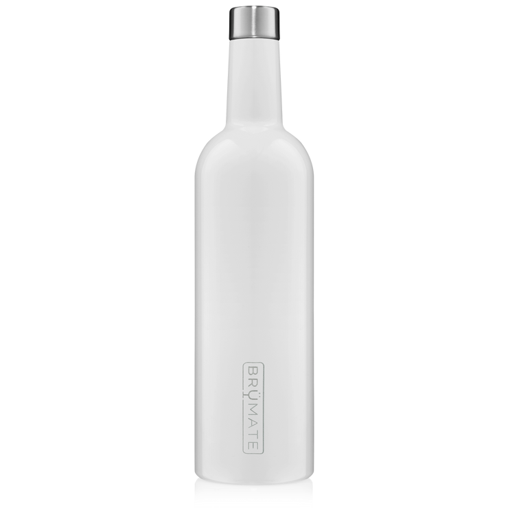 BruMate - WINESULATOR™ 25oz Wine Canteen | Ice White V2.0