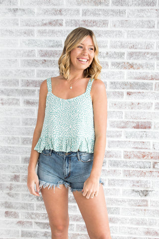 Wild Nights Ruffle Tank