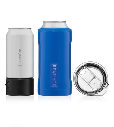 BruMate - HOPSULATOR TRíO 3-in-1 | Royal Blue (16oz/12oz cans)