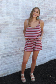 Summer Stripe Romper