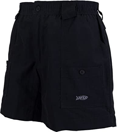 "Aftco - 7"" Original Fishing Shorts - Black"