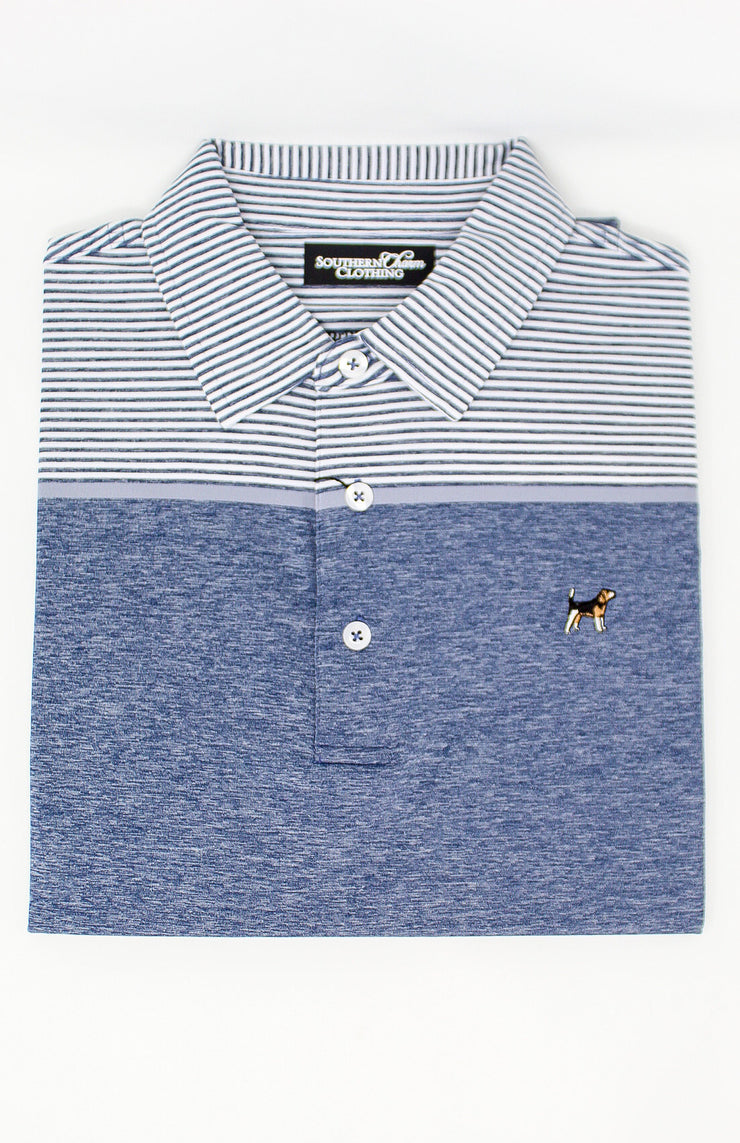 Southern Charm - Patton Performance Polo - Grey