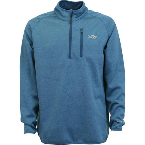 Aftco Vista 1/4 Zip - Blue Steel