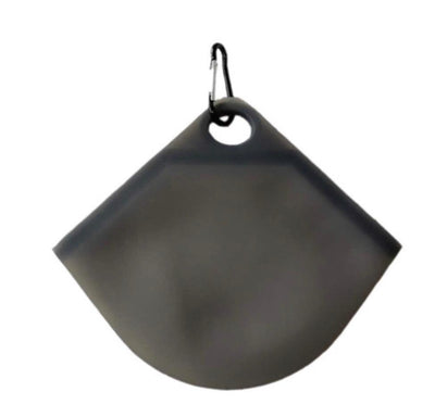 Silicone Mask Pouch - Black