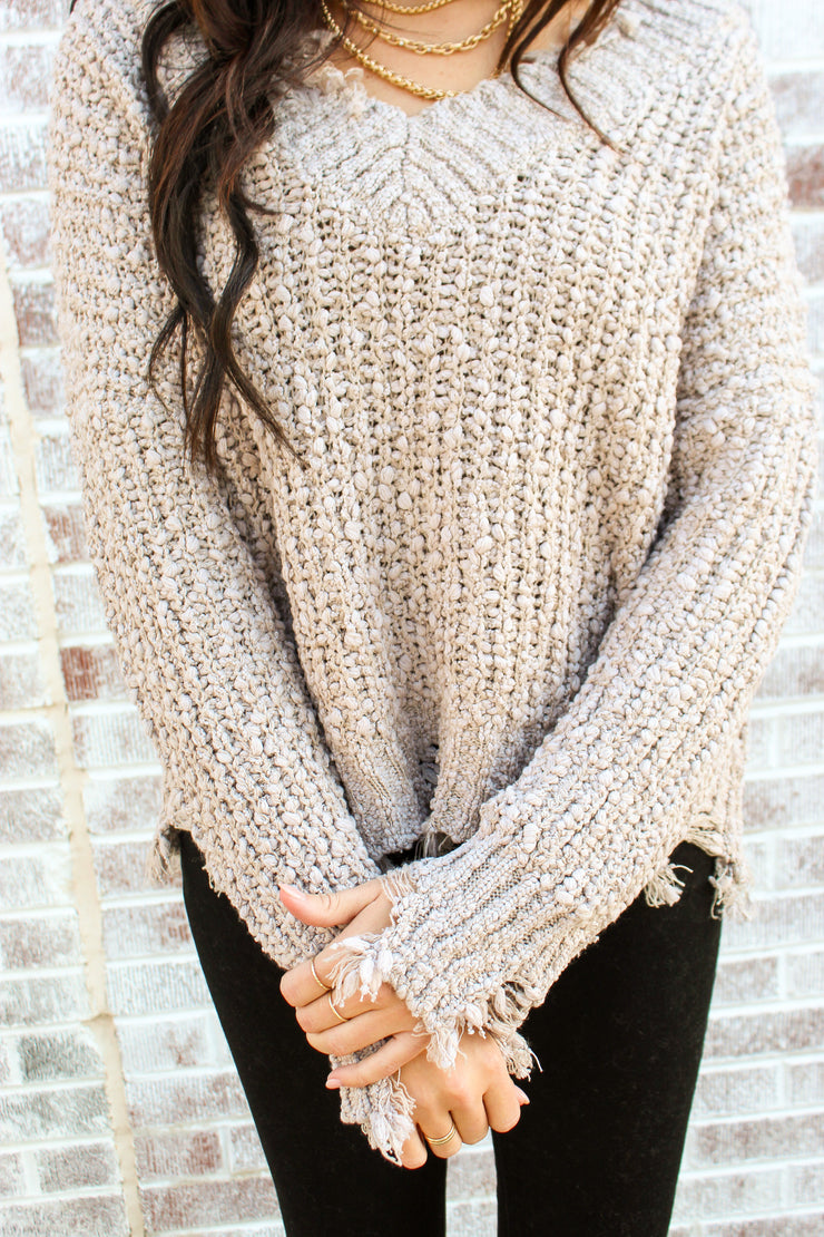 Comes Naturally Sweater