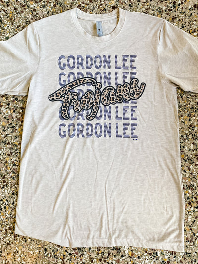 Hustle & Heart - Gordon Lee Trojans Tee
