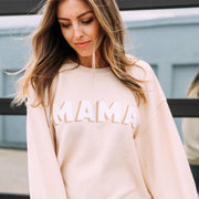 Friday + Saturday Corded Sweatshirt - Mama