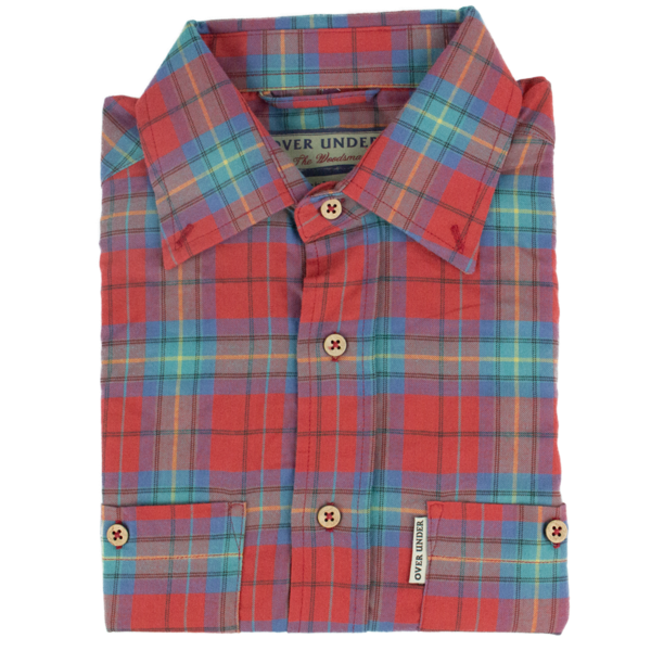 Over Under- The Woodsman Flannel Shirt- Fire on the Mountain