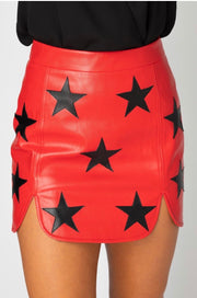 Buddy Love Ali Faux Leather Skirt