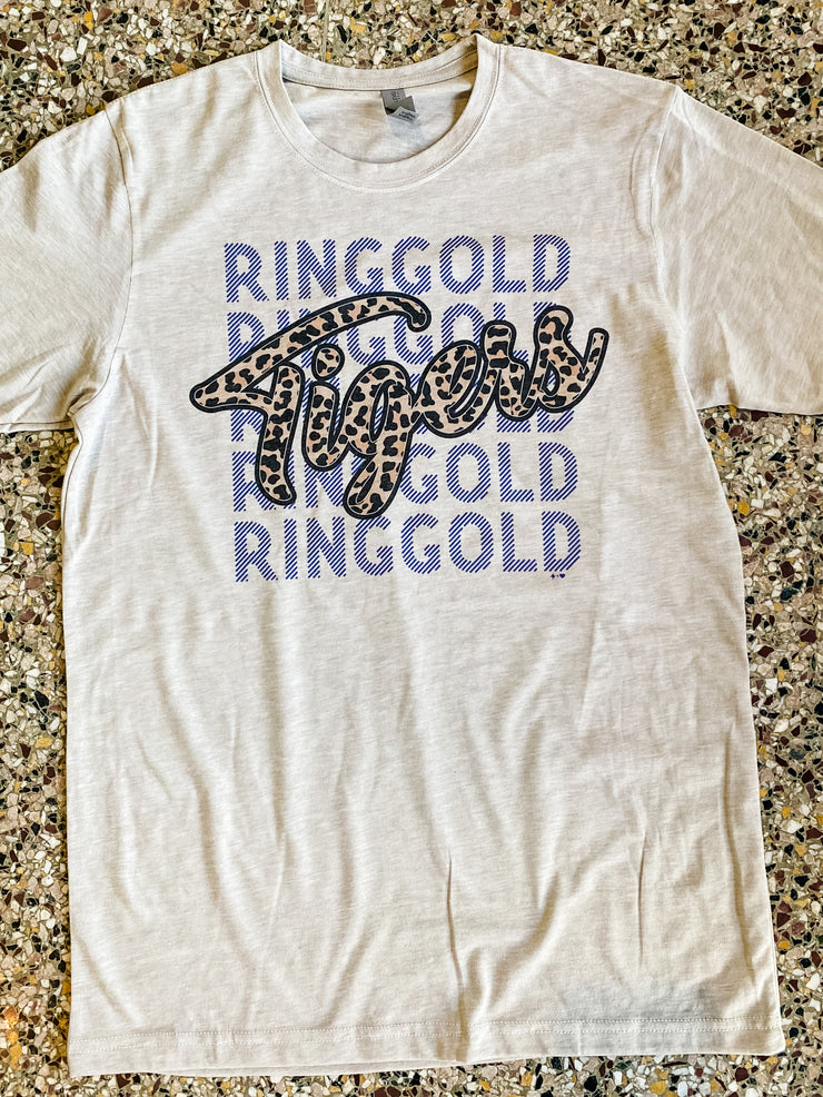 Hustle & Heart - Forever Ringgold Tigers Tee
