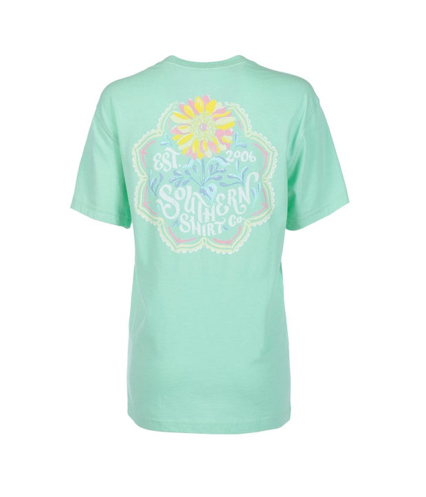 Southern Shirt - Sun-Kissed Flower - Lucite Green