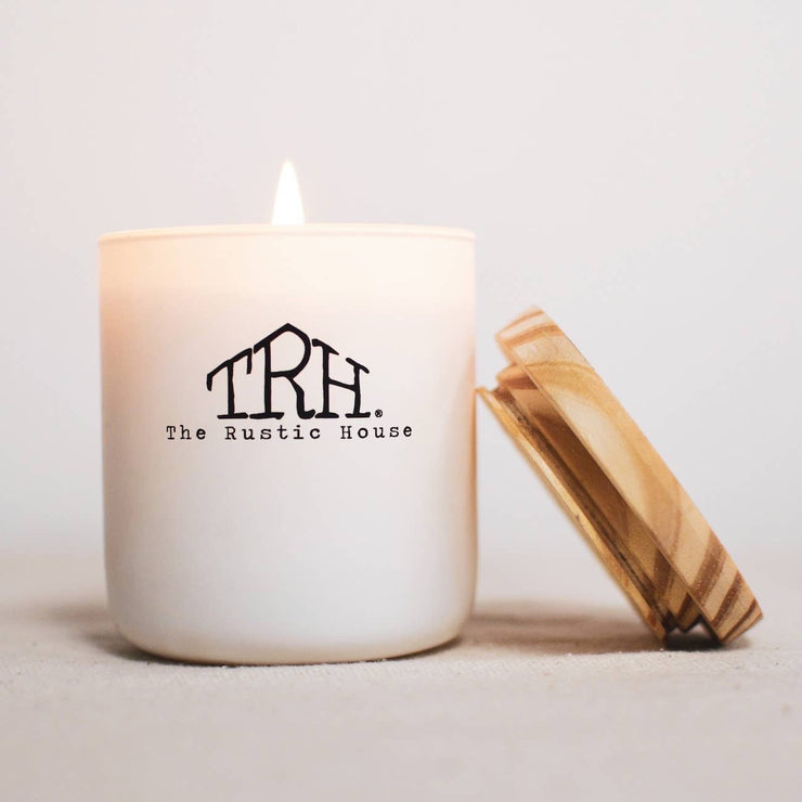The Rustic House Bourbon + Brown Sugar Candle
