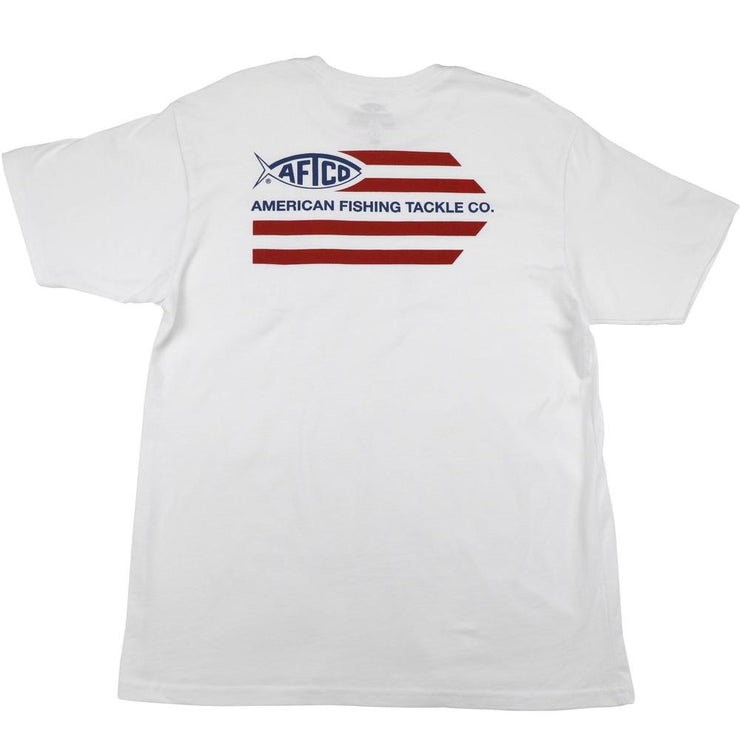 Aftco - Banner Short Sleeve Tee - White