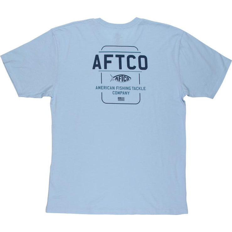 Aftco - Release Short Sleeve - Blue Steel Heather