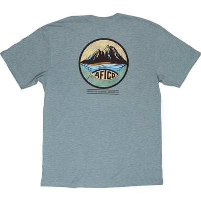Aftco - Denver Short Sleeve Tee - Moonstone Heather