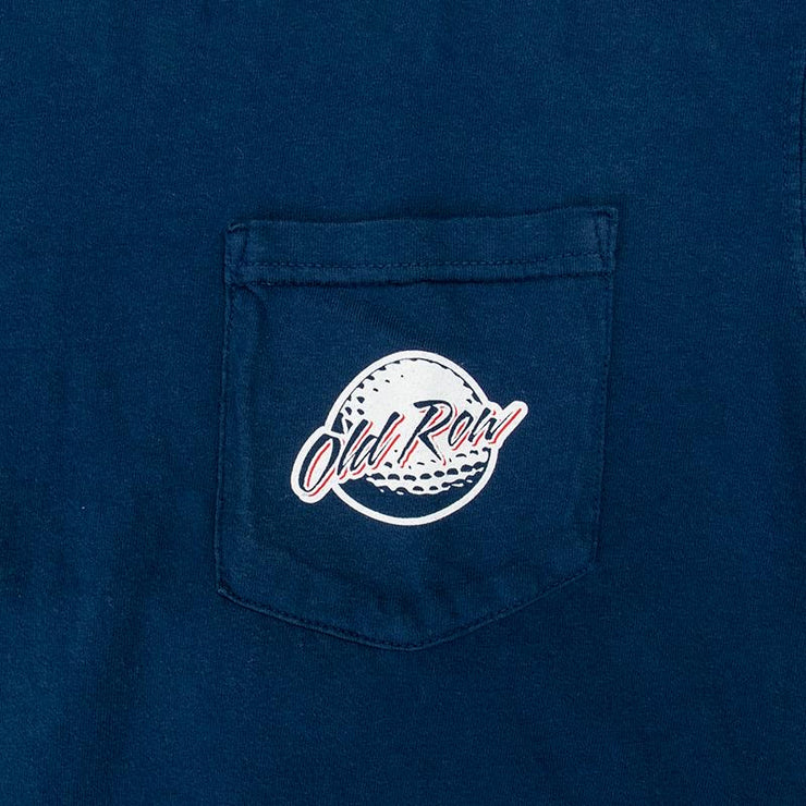 Old Row - He's Back SS Tee - Navy