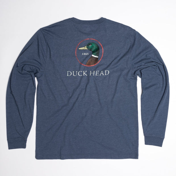 Duck Head - Logo LS - Harbor Blue