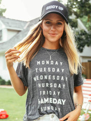 Charlie Southern - Gameday Weeklist T-Shirt
