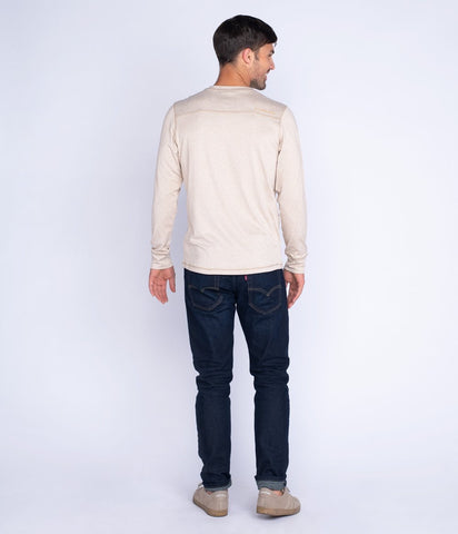 Southern Shirt-  Summit Henley LS- Mojave