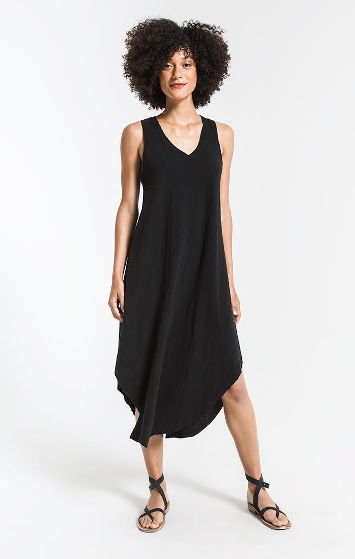 Z Supply The Reverie Midi Dress - Black