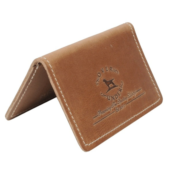 Over Under - Horween Business Card Holder