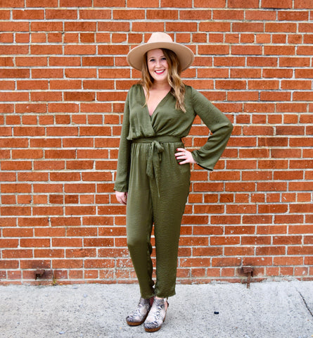 A Little Diddy Striped Jumpsuit