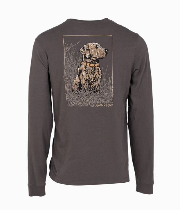 Southern Shirt - Eyes In The Field LS Tee - Dark Tower