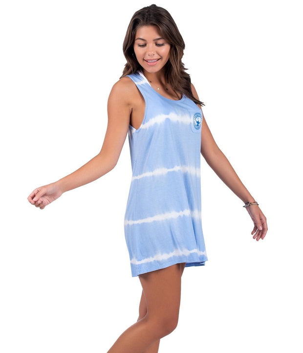 Southern Shirt - Vitamin Sea Tunic Tank - Placid Blue