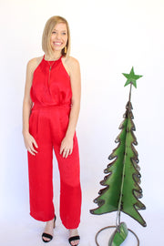 Christmas Kisses Jumpsuit