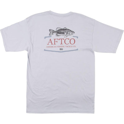 Aftco - Small Tail Short Sleeve Tee - Metal