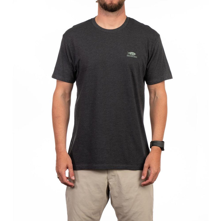 Aftco - Denver Short Sleeve Tee - Charcoal