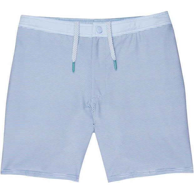 GenTeal - Stripe Swim Trunk - Blue
