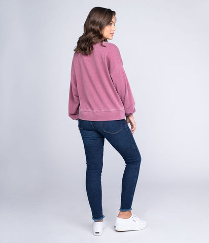 Southern Shirt - Bella Burnout Sweatshirt- Sonoma