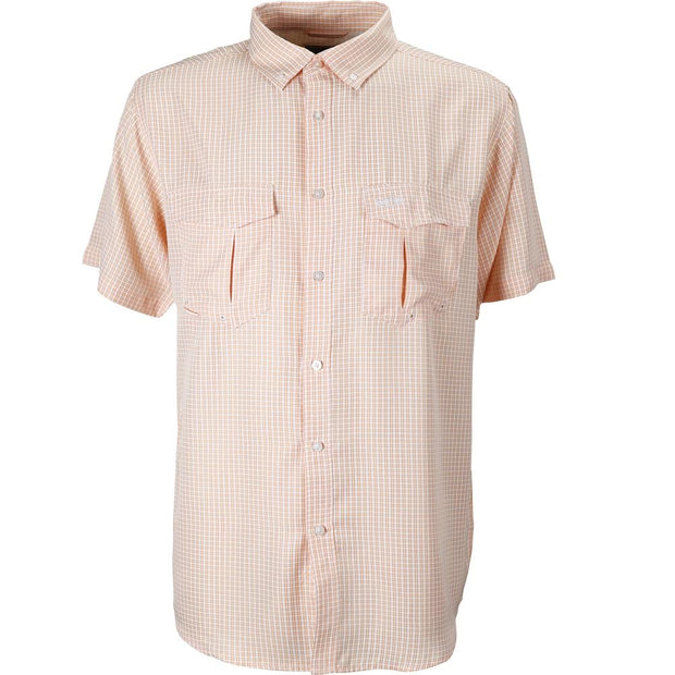Aftco - Sirius Short Sleeve Button Down - Melon