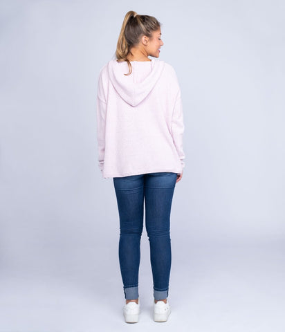 Southern Shirt- Ultra Plush Lounge Hoodie- Mauve Shadows