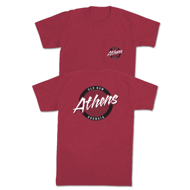 Old Row - Athens SS Tee - Red
