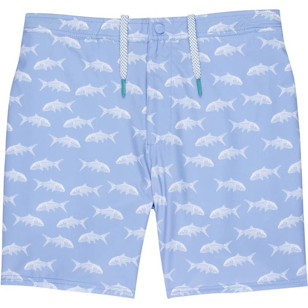 GenTeal - Bonefish Swim Trunk - Sky Blue
