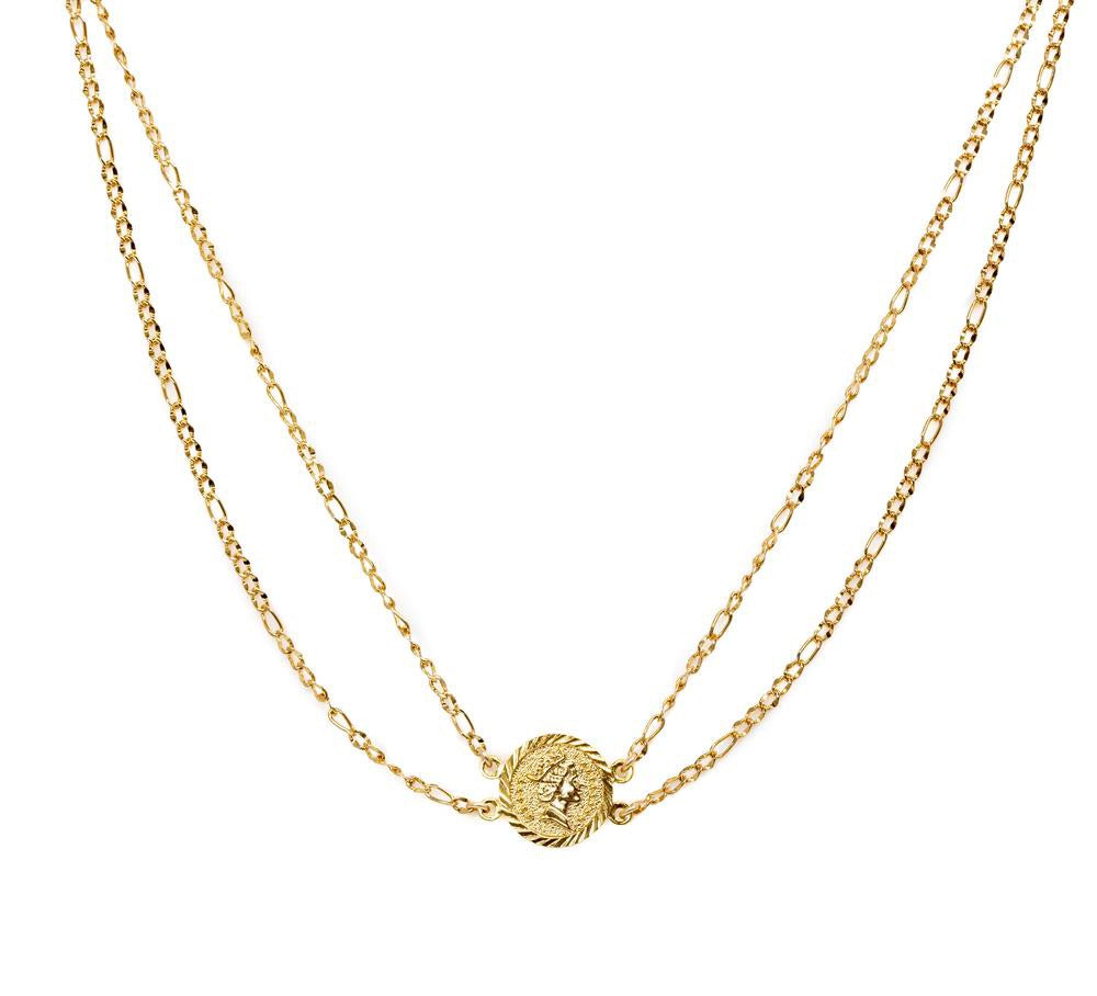 Bracha Isadora Coin Necklace